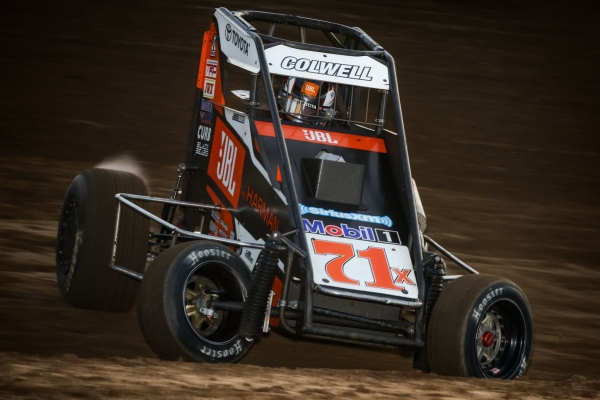 2019 USAC NOS Energy Drink National Midget Rookie of the Year contender Jesse Colwell of Red Bluff, Calif.