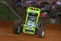 #77 Alex Bright has won the past two USAC Eastern Midget events.