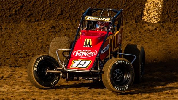 Three-time Haubstadt Hustler winner Kevin Thomas, Jr. (Cullman, Ala.)
