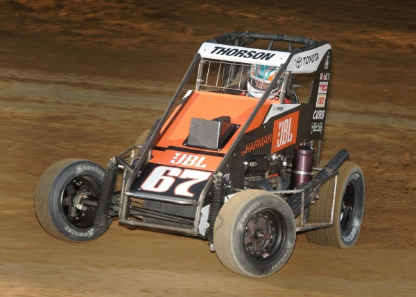 "With Tanner Thorson's victory Thursday night at Putnamville's Lincoln Park Speedway, he now resides in the 7th spot in the latest ""Indiana Midget Week"" standings heading into Friday night's race at Bloomington Speedway."