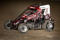 #5 Kevin Thomas, Jr., 2nd in USAC NOS Energy Drink National Midget points.