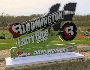 LARRY RICE CLASSIC IS ON TONIGHT AT BLOOMINGTON
