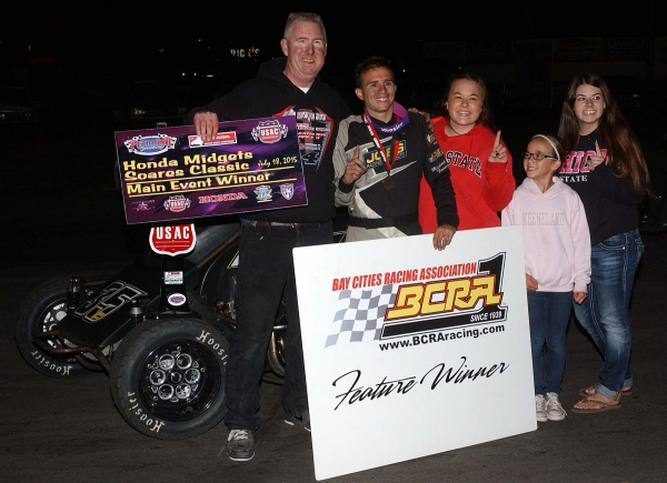 Michael Faccinto wins at Petaluma