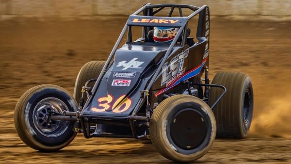 C.J. Leary, the fastest qualifier at the 2019 Tony Hulman Classic.