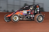 DARLAND SUPERIOR IN AMSOIL SPEEDWAY WIN; 100TH CAREER USAC NATIONAL VICTORY