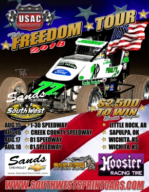 USAC SOUTHWEST FREEDOM TOUR JUST THREE WEEKS AWAY!