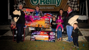 BACON SNAGS WINTER DIRT GAMES PASSING MASTER AWARD