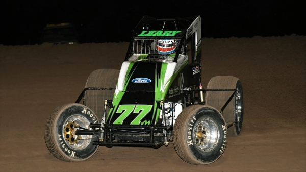 Saturday night's Canyon winner C.J. Leary.