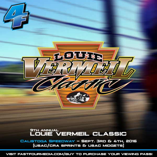 VERMIEL CLASSIC AT CALISTOGA TO BE STREAMED LIVE SAT-SUN