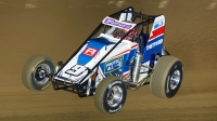 Kevin Thomas, Jr. will start from the pole in Saturday's USAC Silver Crown season finale at Eldora Speedway's 4-Crown Nationals presented by NKT.tv.