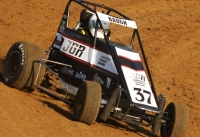USAC IMRA SpeeD2 Midget champ Andy Baugh.