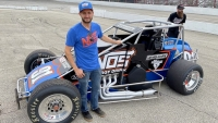 Defending USAC Silver Crown champion, Justin Grant (Ione, Calif.)