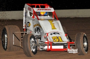 #51 R.J. Johnson –Sands Chevrolet USAC SouthWest Sprint Car Point Leader.