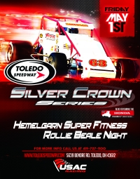 """ROLLIE BEALE CLASSIC"" SILVER CROWN OPENER AT TOLEDO"