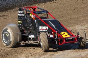 "#2 ""The Big Game Hunter"" Austin Williams – 6th in USAC/CRA Point Standings."