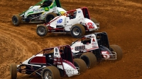 USAC AMSOIL National Sprint Car action at Lincoln Park Speedway in Putnamville, Ind.