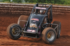 "Dave Darland sits atop the ""Indiana Sprint Week"" standings."