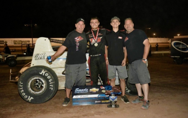 Victory Lane at Arizona Speedway