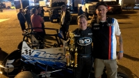 BEAN BECOMES USAC'S WINNINGEST FEMALE WITH WIN AT LAKE HAVASU