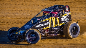 2017-2018 Oval Nationals winner Kevin Thomas, Jr. goes for his 3rd straight final night win in the event at California's Perris Auto Speedway on Nov. 7-8-9.