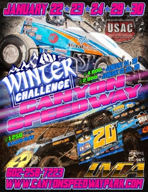 """WINTER CHALLENGE"" AT CANYON AVAILABLE LIVE ON PAY-PER-VIEW THIS FRI & SAT"