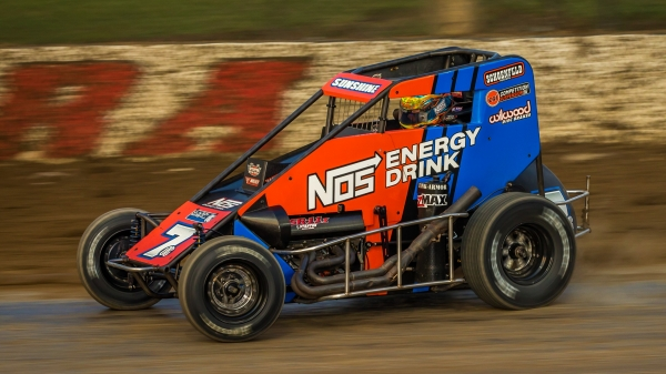 #7BC Tyler Courtney won both the sprint and midget portions of September's 4-Crown Nationals at Eldora, the second time he's done that in his career.