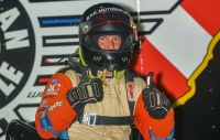 Friday's USAC DMA finale winner Joe Krawiec.