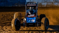 Chris Windom became the first 4-time winner of the Jim Hurtubise Classic Friday night at the Terre Haute (Ind.) Action Track.