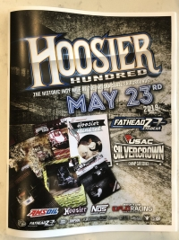 HOOSIER HUNDRED PROGRAM REPRINTED; ON SALE FOR LIMITED TIME ONLY