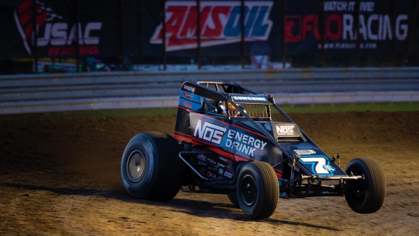 #7BC Tyler Courtney takes the crown in the NOS Energy Drink Indiana Sprint Week ProSource Passing Master standings.