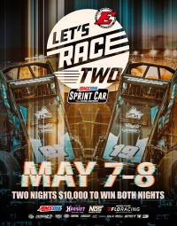 ELDORA'S #LETSRACETWO POSTPONED; DOUBLE FEATURES TO RUN SATURDAY